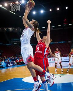 Brittney Griner, Jelena Milovanovic