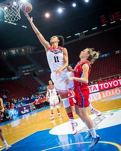 Candice Dupree, Tijana Ajdukovic