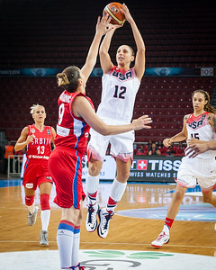 Diana Taurasi, Jelena Milovanovic
