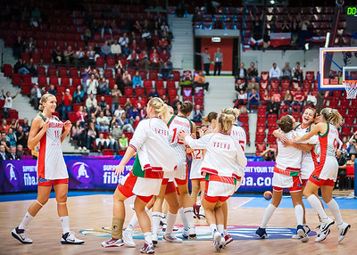 (FIBA World Championship for Women: Quarterfinal, Belarus 70 vs. Russia 53 KV Aréna, Karlovy Vary, Czech Republic. October 1, 2010)