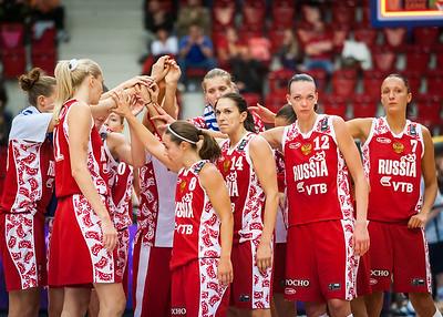 Maria Stepanova, Becky Hammon, Svetlana Abrosimova, Irina Osipova, Marina Kuzina