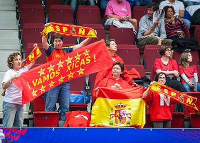 (FIBA World Championship for Women: Quarterfinal, Spain 74 v. France 71, KV Aréna, Karlovy Vary, Czech Republic. October 1, 2010)