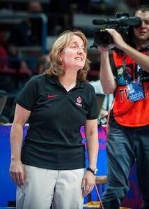 (FIBA World Championship for Women: Eight Final Round, USA 87 v. Canada 46, Čez Aréna, Ostrava, Czech Republic. September 27, 2010)