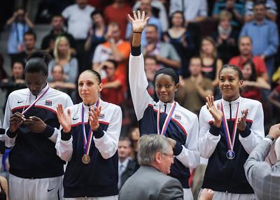(FIBA World Championship for Women: Finals, USA 89 v. Czech Republic 69, KV Aréna, Karlovy Vary, Czech Republic. October 3, 2010)