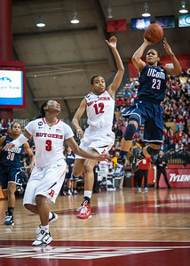 NCAA Women's Basketball: Rutgers Scarlet Knights 44 v Connecticut Huskies 63, Louis Brown Athletic Center, Rutgers University, Jan 26, 2011.