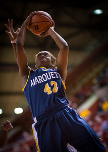 NCAA Women's Basketball: Rutgers Scarlet Knights 75 v Marquette Golden Eagles 64, Louis Brown Athletic Center, Rutgers University, Jan 23, 2010.