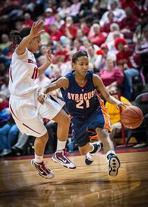 Erica Morrow, Syracuse Orange