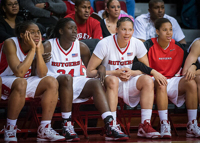 Brooklyn Pope, Chelsey Lee, April Sykes, Nikki Speed, Rutgers