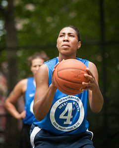 Lady Parkers (Blue) 51 v. Havoc (Black) 44 West 4th St Women's  Pro-Classic NYC: Lady Parkers (Blue) 51 v. Havoc (Black) 44, William F. The Cage, New York, NY. June 6, 2010)