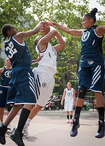 Brooklyn Express (Blue) 83 v. Fast Break (White) 49 West 4th St Women's  Pro-Classic NYC: Brooklyn Express (Blue) 83 v. Fast Break (White) 49,  Passannante Playground, New York, NY. June 12, 2010)