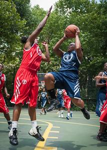 "Big East Ballers (Red) 84 v. Brooklyn XPress (Blue) 60) (West 4th St Women's  Pro-Classic NYC: Big East Ballers (Red) 84 v. Brooklyn XPress (Blue) 60), ""The Cage"", New York, NY. June 26, 2010)"