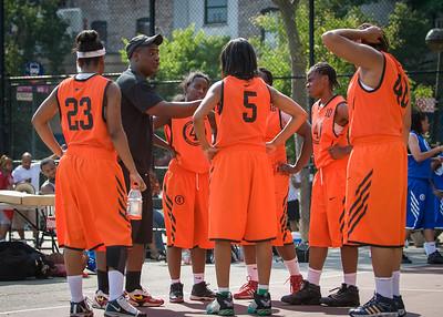 Primetime (Blue) 60 v ASA (Orange) 23 (West 4th St. Women's Pro-Classic NYC: Primetime (Blue) 60 v ASA (Orange) 23, William F. Passannante Ballfield, New York, NY. July 17, 2010)