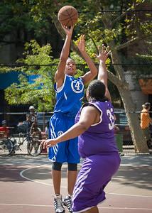 Deuce Trey (Blue) 57 v. Kiss the Baby (Purple) 44 (West 4th Street Women's Pro-Classic NYC: Deuce Trey (Blue) 57 v. Kiss the Baby (Purple) 44, William F. Passannante Ballfield, New York, NY. July 31, 2010)