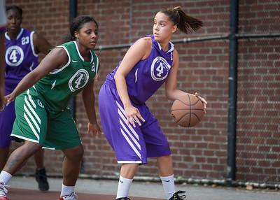 FMB (Green) 79 v. Wizards (Purple) 39 (West 4th Street Women's Pro-Classic NYC: FMB (Green) 79 v. Wizards (Purple) 39, William F. Passannante Ballfield, New York, NY. July 31, 2010)