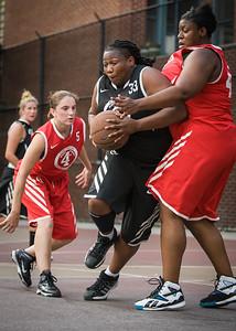 Havoc (Red) 50 v Dream Team (Black) 39 (West 4th Street Women's Pro-Classic NYC: Havoc (Red) 50 v Dream Team (Black) 39, William F. Passannante Ballfield, New York, NY. July 31, 2010)