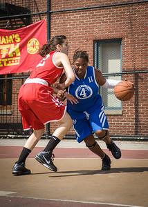 Deuce Trey (Blue) 79 v. Havoc (Red) 58 (West 4th Street Women's Pro Classic NYC: Deuce Trey (Blue) 79 v. Havoc (Red) 58, Passannante Ballfield, New York, NY, August 7, 2010)