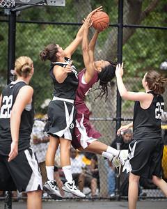 (West 4th St. Women's Pro-Classic NYC: Westchester (Black) 77 v Hustle Hard (Burgundy) 52, William F. Passannante Ballfield, New York, NY. June 5, 2011)