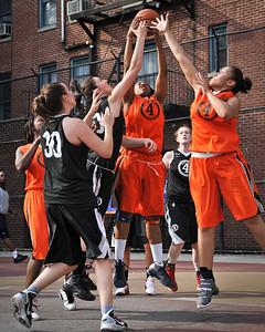 (West 4th St. Women's Pro-Classic NYC: Westchester (Black) 67 v Crossover (Orange) 34, William F. Passannante Ballfield, New York, NY. June 19, 2011)
