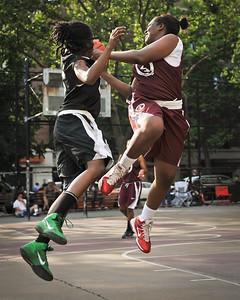 (West 4th St. Women's Pro-Classic NYC: Havoc (Black) 62 v ASA (Burgundy) 29, William F. Passannante Ballfield, New York, NY. June 19, 2011)