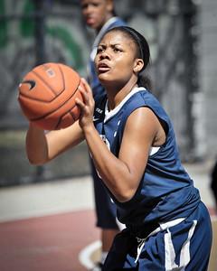 (West 4th St. Women's Pro-Classic NYC: Next Level (Blue) 64 v Brooklyn Express (Navy) 58, William F. Passannante Ballfield, New York, NY. July 2, 2011)