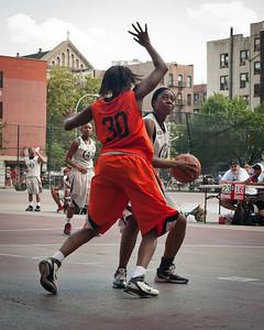 (West 4th St. Women's  Pro-Classic NYC: No Limit (Grey) 75 v Crossover (Orange) 58, William F. Passannante Ballfield, New York, NY. July 31, 2011)
