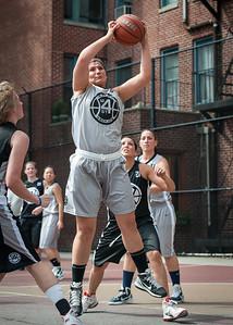 Krissi Thompoulos West 4th Street Women's Pro Classic NYC: Down the Hatch (Black) 65 v The Hawks (Grey) 39, William F. Passannante Ballfield, New York, NY, June 2, 2012