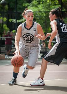 Mary Lepore, Meghan Mahoney West 4th Street Women's Pro Classic NYC: Down the Hatch (Black) 65 v The Hawks (Grey) 39, William F. Passannante Ballfield, New York, NY, June 2, 2012