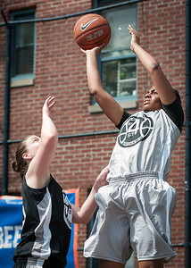 Lisa Welsome & Alease Vaughan West 4th Street Women's Pro Classic NYC: Down the Hatch (Black) 65 v The Hawks (Grey) 39, William F. Passannante Ballfield, New York, NY, June 2, 2012