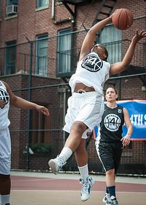 Te Wright West 4th Street Women's Pro Classic NYC: Cobra Hustlers (Black) 66 v Lady Falcons (White) 55, William F. Passannante Ballfield, New York, NY, June 2, 2012