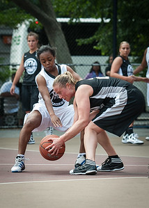 S. Stewerson, Nicole Kazmarski West 4th Street Women's Pro Classic NYC: Cobra Hustlers (Black) 66 v Lady Falcons (White) 55, William F. Passannante Ballfield, New York, NY, June 2, 2012