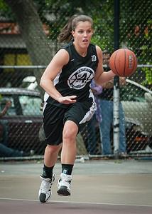 Michelle Kurowski West 4th Street Women's Pro Classic NYC: Cobra Hustlers (Black) 66 v Lady Falcons (White) 55, William F. Passannante Ballfield, New York, NY, June 2, 2012