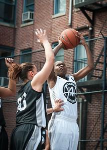 Mary Lepore, Aquillin Hayes West 4th Street Women's Pro Classic NYC: Cobra Hustlers (Black) 66 v Lady Falcons (White) 55, William F. Passannante Ballfield, New York, NY, June 2, 2012