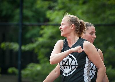Nicole Kazmarski West 4th Street Women's Pro Classic NYC: Cobra Hustlers (Black) 66 v Lady Falcons (White) 55, William F. Passannante Ballfield, New York, NY, June 2, 2012