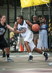 Rianna Ward West 4th Street Women's Pro Classic NYC: Cobra Hustlers (Black) 66 v Lady Falcons (White) 55, William F. Passannante Ballfield, New York, NY, June 2, 2012