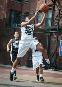April Williams West 4th Street Women's Pro Classic NYC: Cobra Hustlers (Black) 66 v Lady Falcons (White) 55, William F. Passannante Ballfield, New York, NY, June 2, 2012