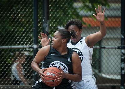 Kaitlin Grant, Krista Mitchell West 4th Street Women's Pro Classic NYC: Cobra Hustlers (Black) 66 v Lady Falcons (White) 55, William F. Passannante Ballfield, New York, NY, June 2, 2012