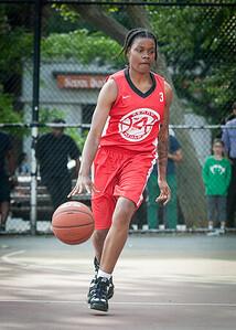 J. Odom West 4th Street Women's Pro Classic NYC: Fastbreak (Red) 61 v Da Bizznezz (Purple) 34, William F. Passannante Ballfield, New York, NY, June 2, 2012