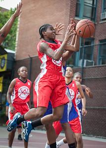 Takima Lucky West 4th Street Women's Pro Classic NYC: Fastbreak (Red) 61 v Da Bizznezz (Purple) 34, William F. Passannante Ballfield, New York, NY, June 2, 2012