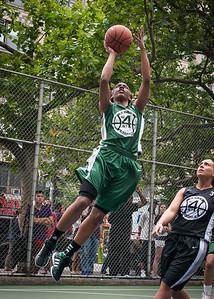 "Cori Coleman West 4th Street Women's Pro Classic NYC: Exodus NYC Apache (Green) 50 v Cobra Hustlers (Black) 39, ""The Cage"", New York, NY, June 9, 2012"