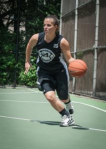 "Michelle Kurowski West 4th Street Women's Pro Classic NYC: Exodus NYC Apache (Green) 50 v Cobra Hustlers (Black) 39, ""The Cage"", New York, NY, June 9, 2012"