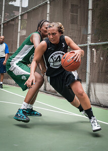"Chris Marrone West 4th Street Women's Pro Classic NYC: Exodus NYC Apache (Green) 50 v Cobra Hustlers (Black) 39, ""The Cage"", New York, NY, June 9, 2012"