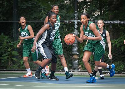 "Nicole Michael West 4th Street Women's Pro Classic NYC: Exodus NYC Apache (Green) 50 v Cobra Hustlers (Black) 39, ""The Cage"", New York, NY, June 9, 2012"
