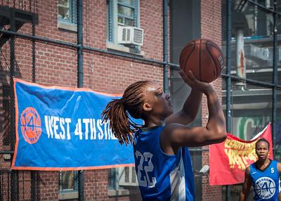 Leeah Thomas West 4th Street Women's Pro Classic NYC: Primetime (Blue) 58 v Down the Hatch (Black) 52, William F. Passannante Ballfield, New York, NY, June 9, 2012