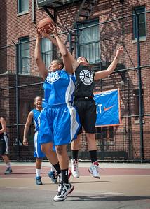 Dana Wynne, Meghan Mahoney West 4th Street Women's Pro Classic NYC: Primetime (Blue) 58 v Down the Hatch (Black) 52, William F. Passannante Ballfield, New York, NY, June 9, 2012