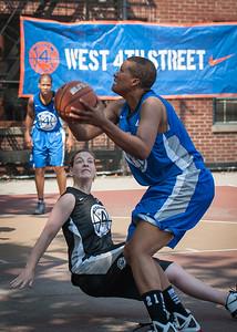 Dana Wynne, Lisa Welsome West 4th Street Women's Pro Classic NYC: Primetime (Blue) 58 v Down the Hatch (Black) 52, William F. Passannante Ballfield, New York, NY, June 9, 2012
