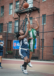 Janera Johnson, Yolanda Alford West 4th Street Women's Pro Classic NYC: Quiet Storm (Green) 50 v Impulse (Navy) 36, William F. Passannante Ballfield, New York, NY, June 9, 2012