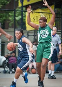 Sarissa Gaskins, Candice Abbelard West 4th Street Women's Pro Classic NYC: Quiet Storm (Green) 50 v Impulse (Navy) 36, William F. Passannante Ballfield, New York, NY, June 9, 2012