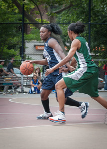 Janera Johnson, Candice Lloyd  West 4th Street Women's Pro Classic NYC: Quiet Storm (Green) 50 v Impulse (Navy) 36, William F. Passannante Ballfield, New York, NY, June 9, 2012