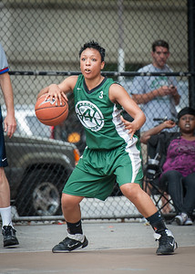 Shenee Clarke West 4th Street Women's Pro Classic NYC: Quiet Storm (Green) 50 v Impulse (Navy) 36, William F. Passannante Ballfield, New York, NY, June 9, 2012
