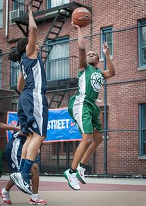 Nadia Duncan, Yolanda Alford West 4th Street Women's Pro Classic NYC: Quiet Storm (Green) 50 v Impulse (Navy) 36, William F. Passannante Ballfield, New York, NY, June 9, 2012